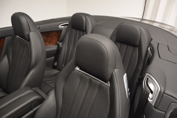 Used 2013 Bentley Continental GTC for sale Sold at Maserati of Westport in Westport CT 06880 19