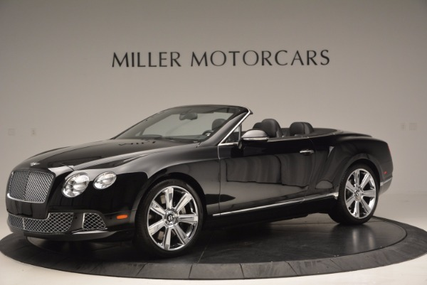 Used 2013 Bentley Continental GTC for sale Sold at Maserati of Westport in Westport CT 06880 2