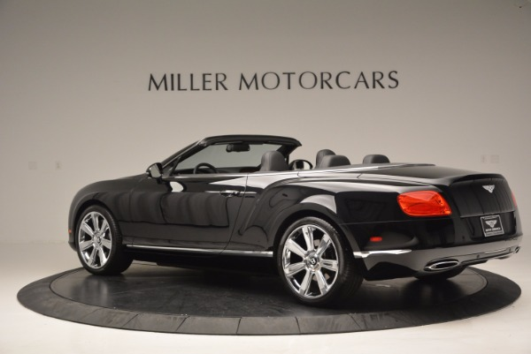 Used 2013 Bentley Continental GTC for sale Sold at Maserati of Westport in Westport CT 06880 5