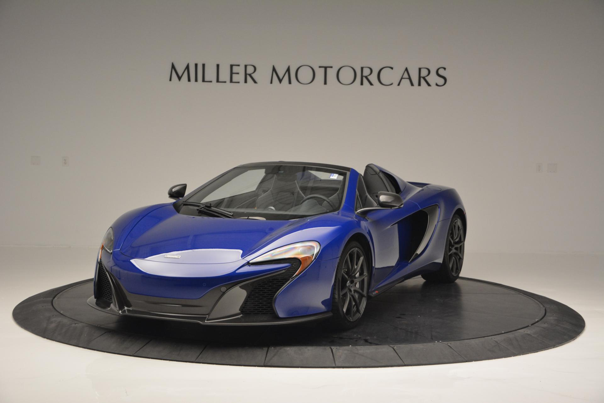 Used 2016 McLaren 650S Spider for sale Sold at Maserati of Westport in Westport CT 06880 1
