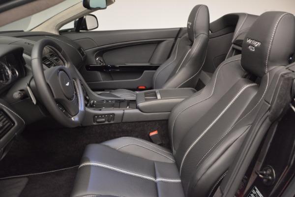Used 2016 Aston Martin V8 Vantage S Roadster for sale Sold at Maserati of Westport in Westport CT 06880 25