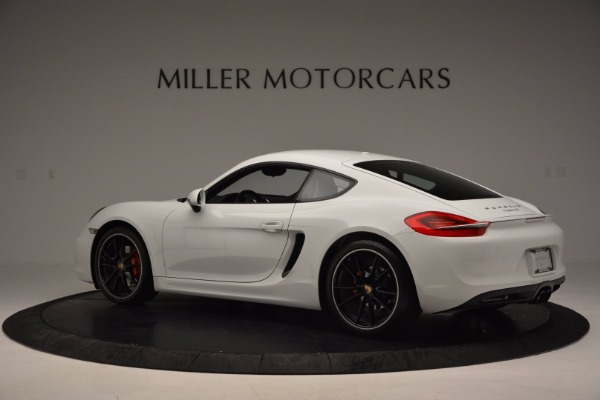 Used 2014 Porsche Cayman S for sale Sold at Maserati of Westport in Westport CT 06880 4