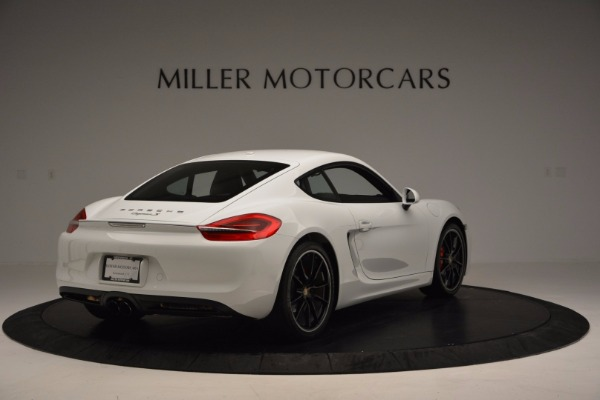 Used 2014 Porsche Cayman S for sale Sold at Maserati of Westport in Westport CT 06880 7
