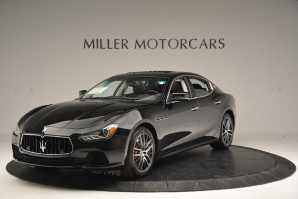 Used 2016 Maserati Ghibli S Q4  EX-LOANER for sale Sold at Maserati of Westport in Westport CT 06880 1