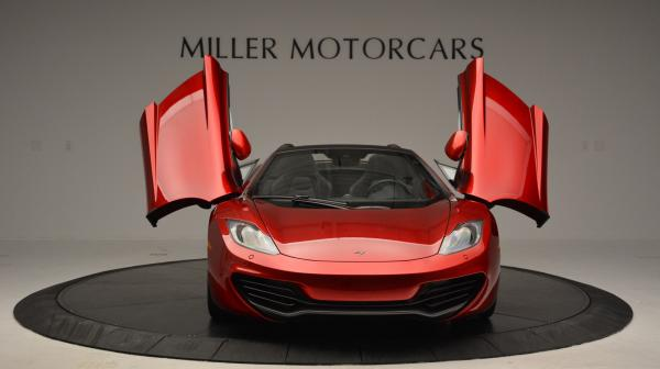 Used 2013 McLaren 12C Spider for sale Sold at Maserati of Westport in Westport CT 06880 13