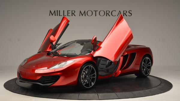 Used 2013 McLaren 12C Spider for sale Sold at Maserati of Westport in Westport CT 06880 14