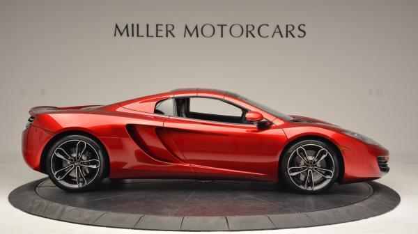 Used 2013 McLaren 12C Spider for sale Sold at Maserati of Westport in Westport CT 06880 20