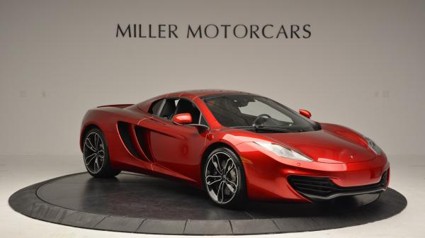 Used 2013 McLaren 12C Spider for sale Sold at Maserati of Westport in Westport CT 06880 21