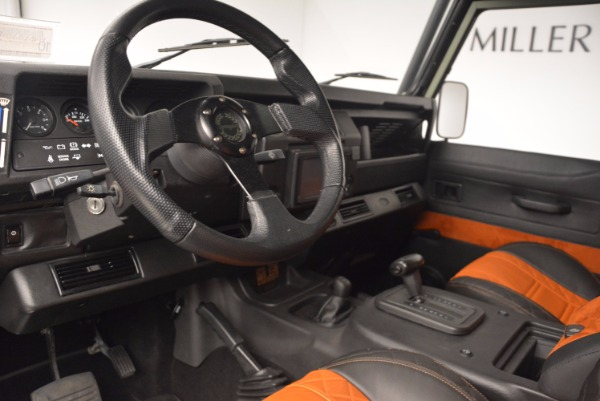 Used 1997 Land Rover Defender 90 for sale Sold at Maserati of Westport in Westport CT 06880 13