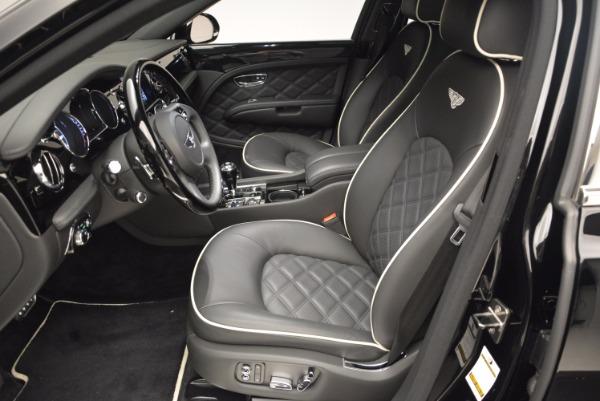 Used 2016 Bentley Mulsanne for sale Sold at Maserati of Westport in Westport CT 06880 24