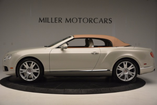 Used 2013 Bentley Continental GTC V8 for sale Sold at Maserati of Westport in Westport CT 06880 16