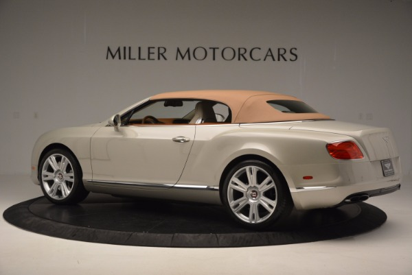 Used 2013 Bentley Continental GTC V8 for sale Sold at Maserati of Westport in Westport CT 06880 17