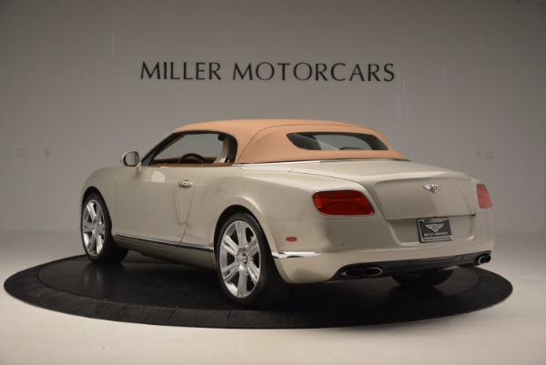 Used 2013 Bentley Continental GTC V8 for sale Sold at Maserati of Westport in Westport CT 06880 18