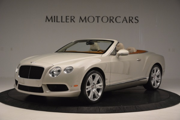 Used 2013 Bentley Continental GTC V8 for sale Sold at Maserati of Westport in Westport CT 06880 2