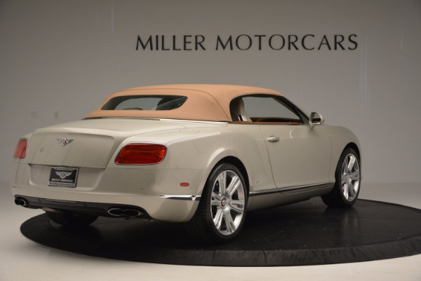 Used 2013 Bentley Continental GTC V8 for sale Sold at Maserati of Westport in Westport CT 06880 20