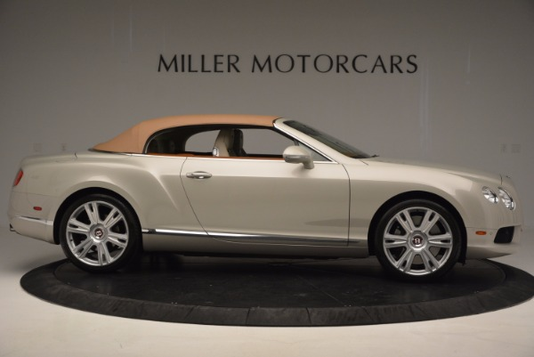 Used 2013 Bentley Continental GTC V8 for sale Sold at Maserati of Westport in Westport CT 06880 22