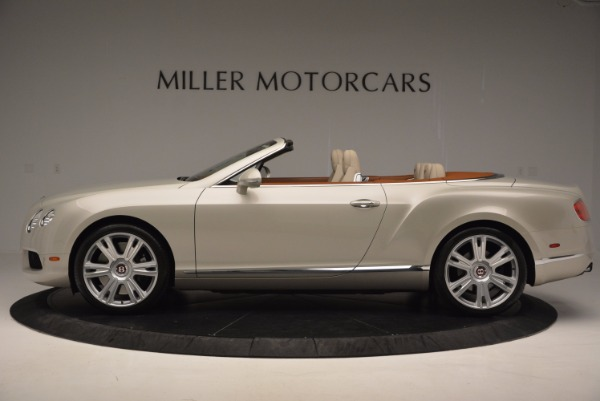 Used 2013 Bentley Continental GTC V8 for sale Sold at Maserati of Westport in Westport CT 06880 3