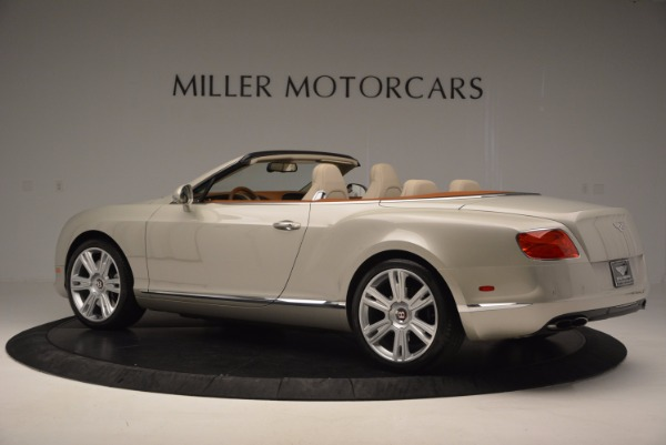 Used 2013 Bentley Continental GTC V8 for sale Sold at Maserati of Westport in Westport CT 06880 4