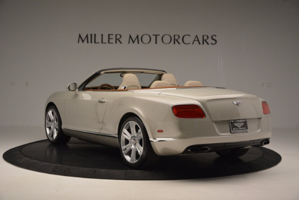 Used 2013 Bentley Continental GTC V8 for sale Sold at Maserati of Westport in Westport CT 06880 5