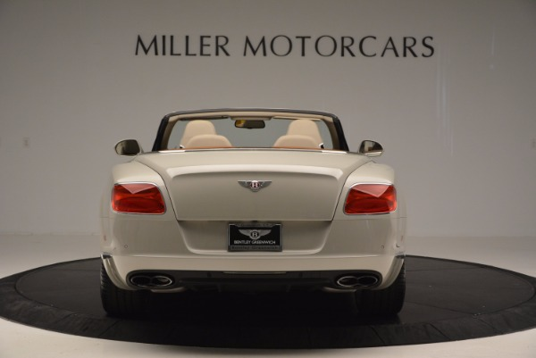 Used 2013 Bentley Continental GTC V8 for sale Sold at Maserati of Westport in Westport CT 06880 6