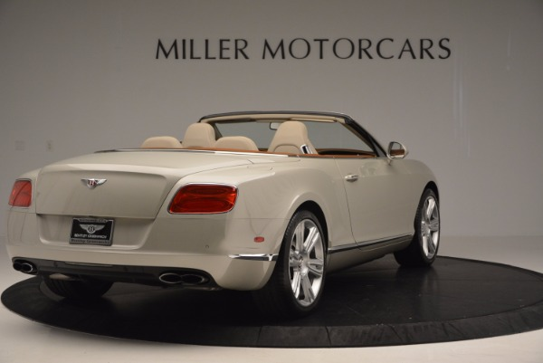 Used 2013 Bentley Continental GTC V8 for sale Sold at Maserati of Westport in Westport CT 06880 7