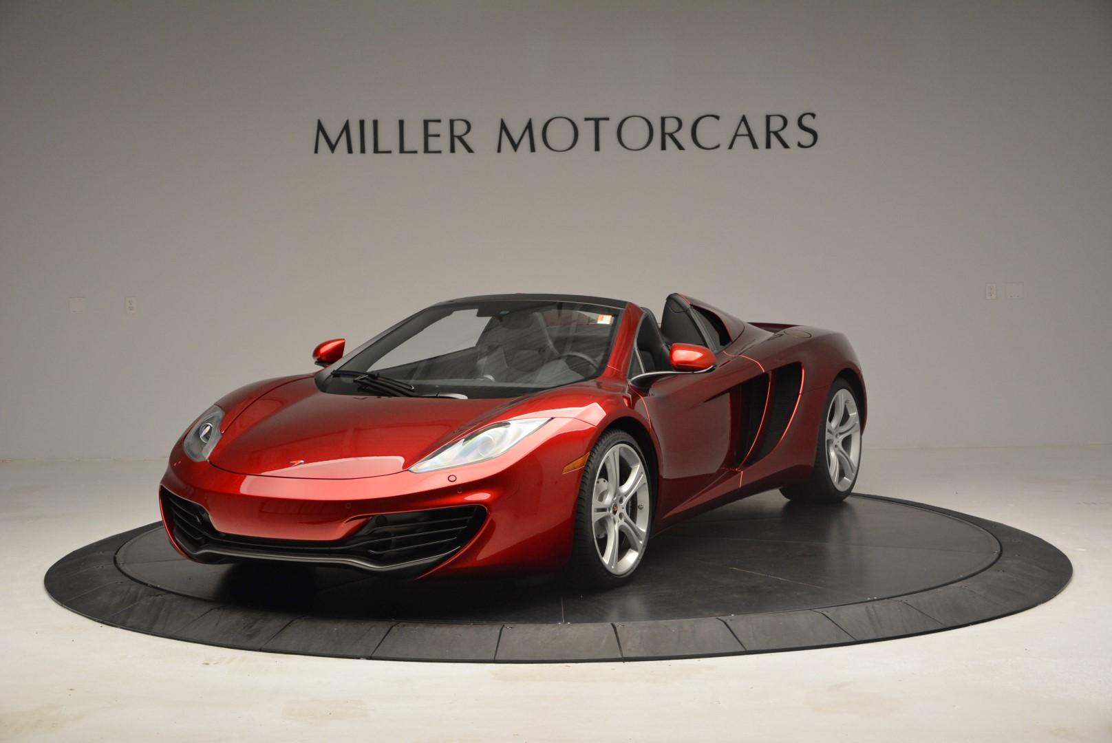Used 2013 McLaren 12C Spider for sale Sold at Maserati of Westport in Westport CT 06880 1
