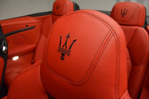 New 2017 Maserati GranTurismo Cab Sport for sale Sold at Maserati of Westport in Westport CT 06880 24