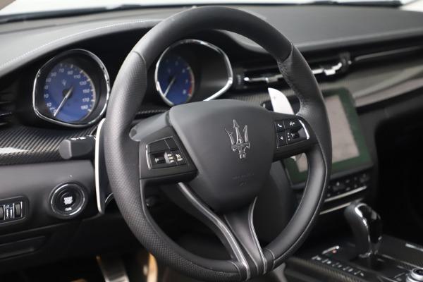 Used 2017 Maserati Quattroporte S Q4 GranSport for sale $59,900 at Maserati of Westport in Westport CT 06880 16