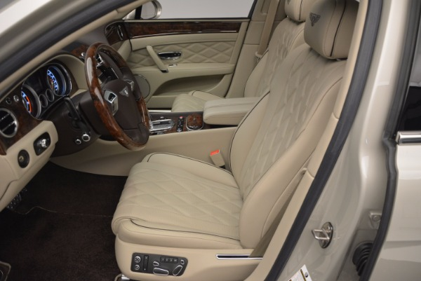 Used 2015 Bentley Flying Spur W12 for sale Sold at Maserati of Westport in Westport CT 06880 24