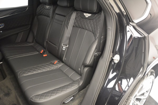 Used 2017 Bentley Bentayga W12 for sale Sold at Maserati of Westport in Westport CT 06880 23