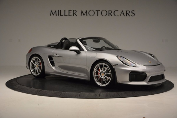 Used 2016 Porsche Boxster Spyder for sale Sold at Maserati of Westport in Westport CT 06880 10