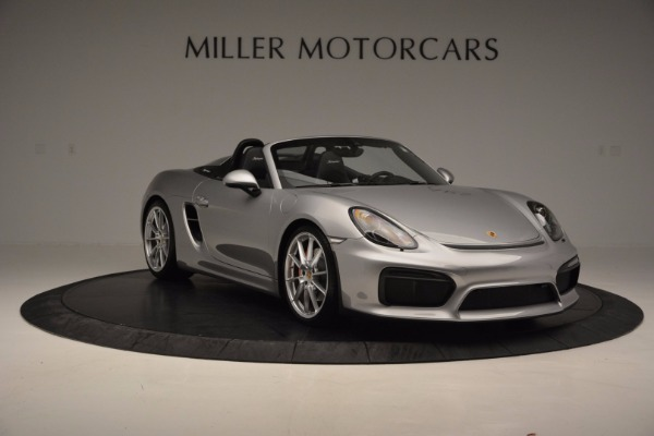 Used 2016 Porsche Boxster Spyder for sale Sold at Maserati of Westport in Westport CT 06880 11