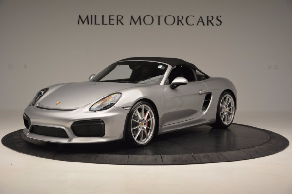 Used 2016 Porsche Boxster Spyder for sale Sold at Maserati of Westport in Westport CT 06880 13