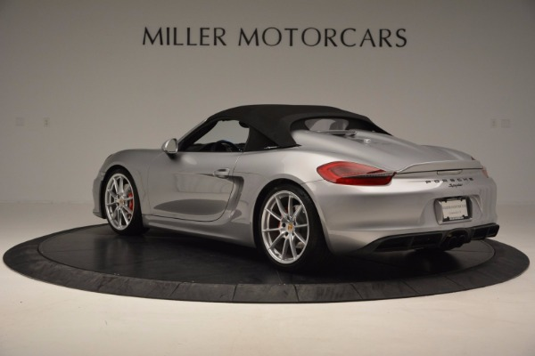 Used 2016 Porsche Boxster Spyder for sale Sold at Maserati of Westport in Westport CT 06880 15