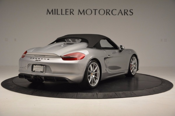 Used 2016 Porsche Boxster Spyder for sale Sold at Maserati of Westport in Westport CT 06880 17