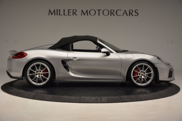 Used 2016 Porsche Boxster Spyder for sale Sold at Maserati of Westport in Westport CT 06880 18