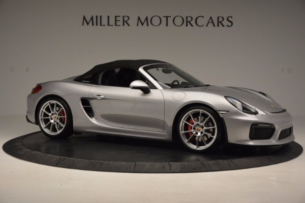 Used 2016 Porsche Boxster Spyder for sale Sold at Maserati of Westport in Westport CT 06880 19