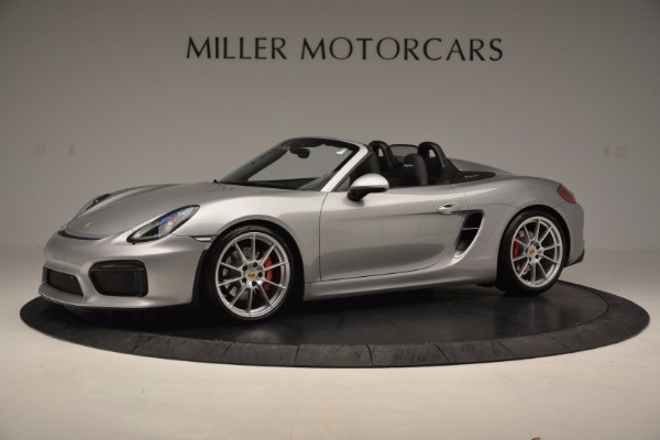 Used 2016 Porsche Boxster Spyder for sale Sold at Maserati of Westport in Westport CT 06880 2