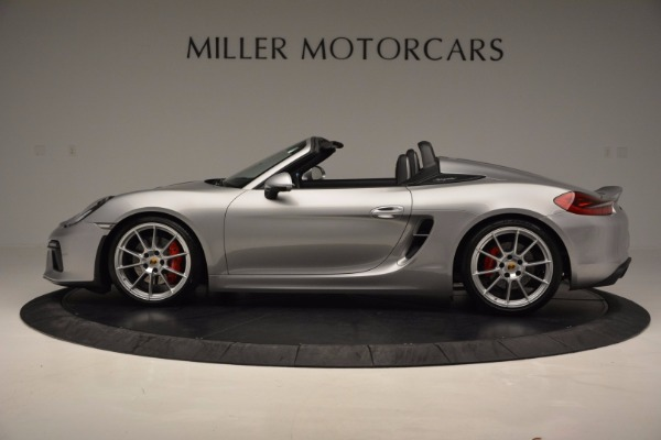 Used 2016 Porsche Boxster Spyder for sale Sold at Maserati of Westport in Westport CT 06880 3