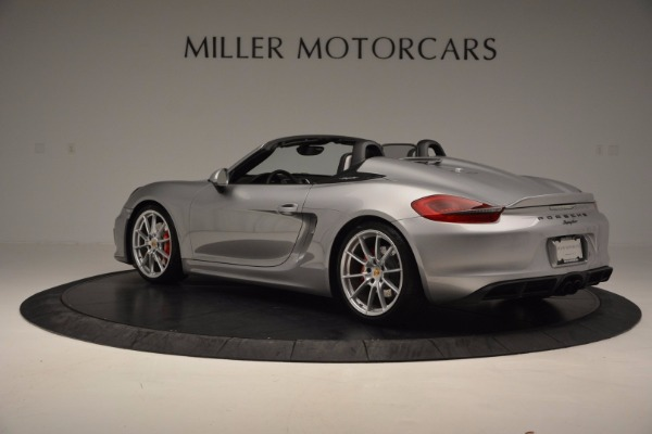 Used 2016 Porsche Boxster Spyder for sale Sold at Maserati of Westport in Westport CT 06880 4