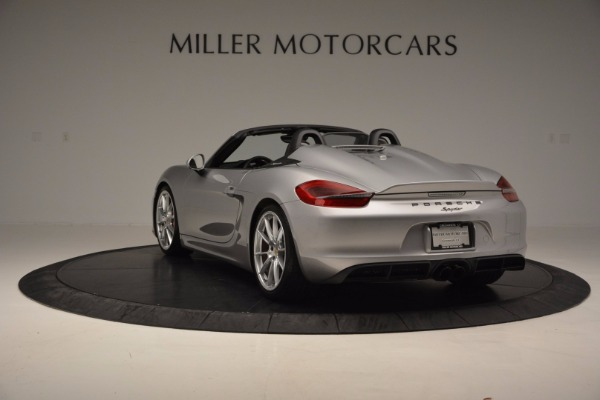 Used 2016 Porsche Boxster Spyder for sale Sold at Maserati of Westport in Westport CT 06880 5