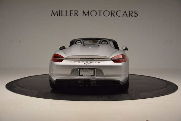 Used 2016 Porsche Boxster Spyder for sale Sold at Maserati of Westport in Westport CT 06880 6