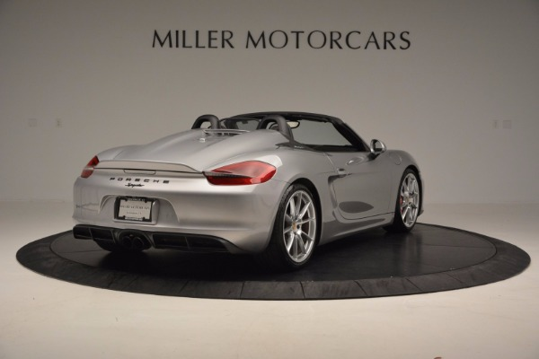 Used 2016 Porsche Boxster Spyder for sale Sold at Maserati of Westport in Westport CT 06880 7