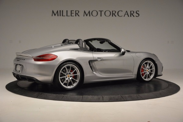 Used 2016 Porsche Boxster Spyder for sale Sold at Maserati of Westport in Westport CT 06880 8