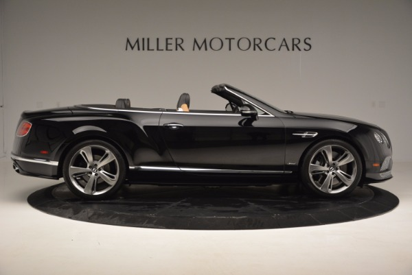 Used 2016 Bentley Continental GT Speed Convertible for sale Sold at Maserati of Westport in Westport CT 06880 9