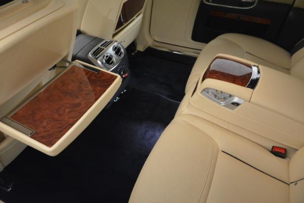 Used 2016 Rolls-Royce Ghost EWB for sale Sold at Maserati of Westport in Westport CT 06880 28
