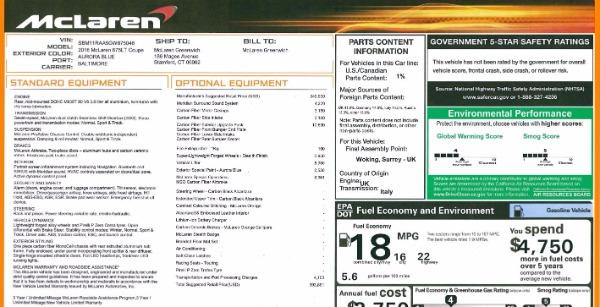 Used 2016 McLaren 675LT Coupe for sale $235,900 at Maserati of Westport in Westport CT 06880 26