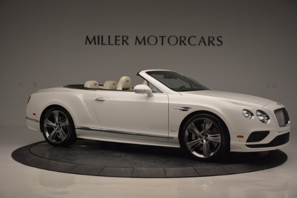 New 2017 Bentley Continental GT Speed Convertible for sale Sold at Maserati of Westport in Westport CT 06880 10
