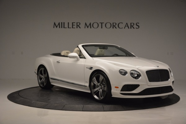 New 2017 Bentley Continental GT Speed Convertible for sale Sold at Maserati of Westport in Westport CT 06880 11