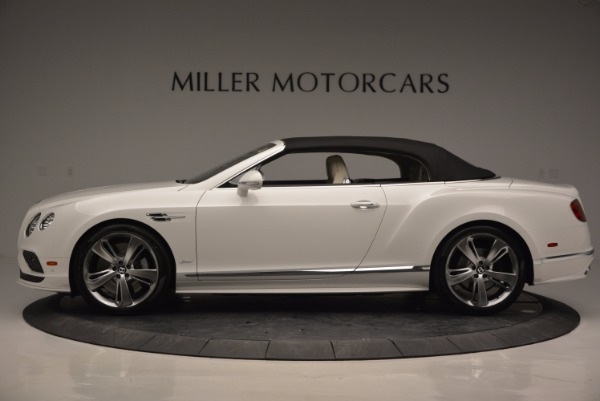New 2017 Bentley Continental GT Speed Convertible for sale Sold at Maserati of Westport in Westport CT 06880 15